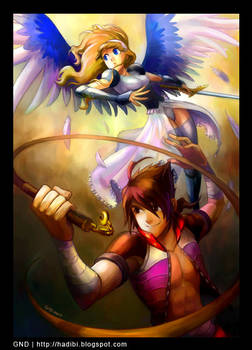 Gem Hunter and Angel