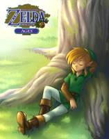 Legend Of Zelda : A Hero's Nap by gndagnor