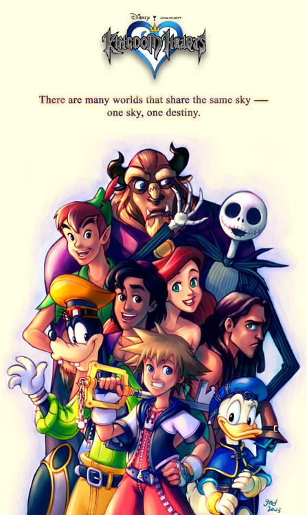 Kingdom Hearts by gndagnor
