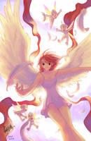 Sexyblue's Angel by gndagnor