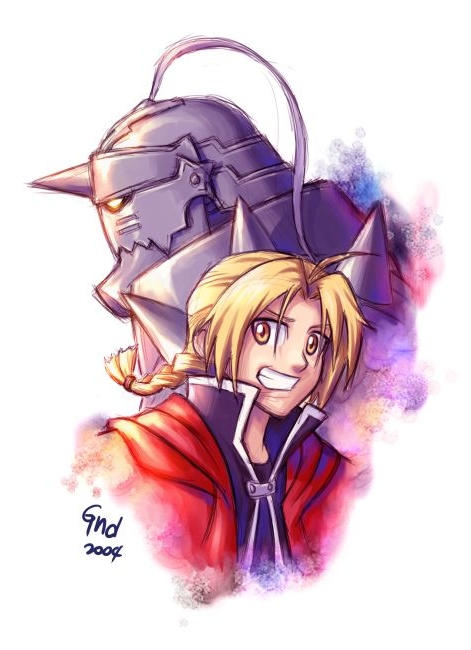 Full Metal Alchemist - Rough by gndagnor