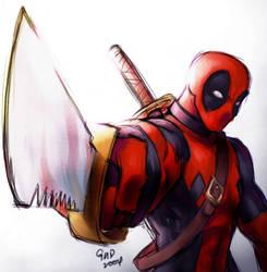 Deadpool for LechucksCurse101 by gndagnor