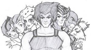 Thundercats Crew by gndagnor