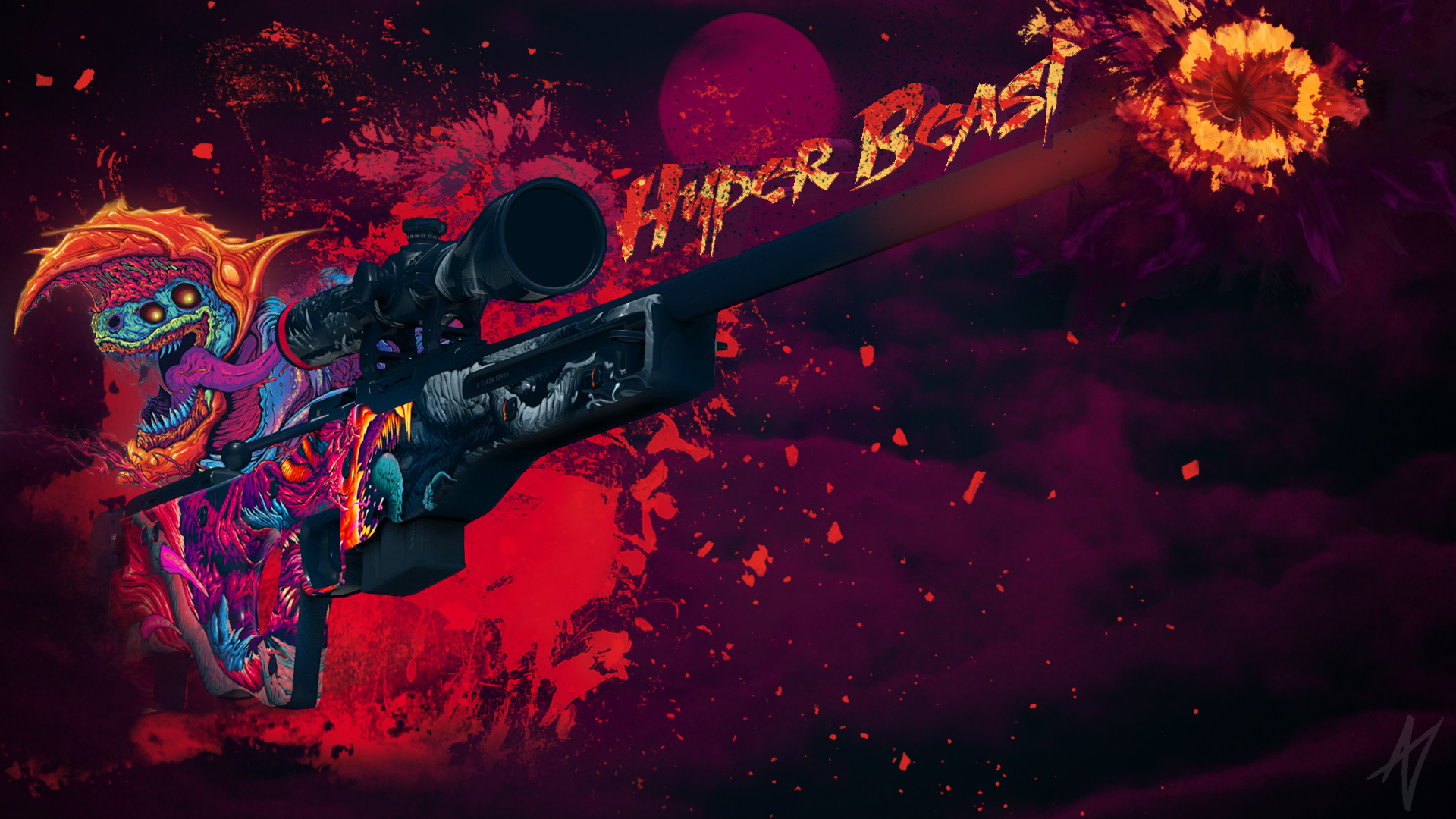 POWERED Hyper Beast by Dooudaaa on DeviantArt