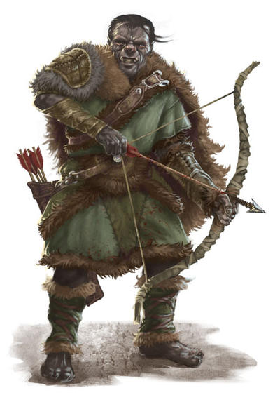 Orc Archer by PrincepsSenatus