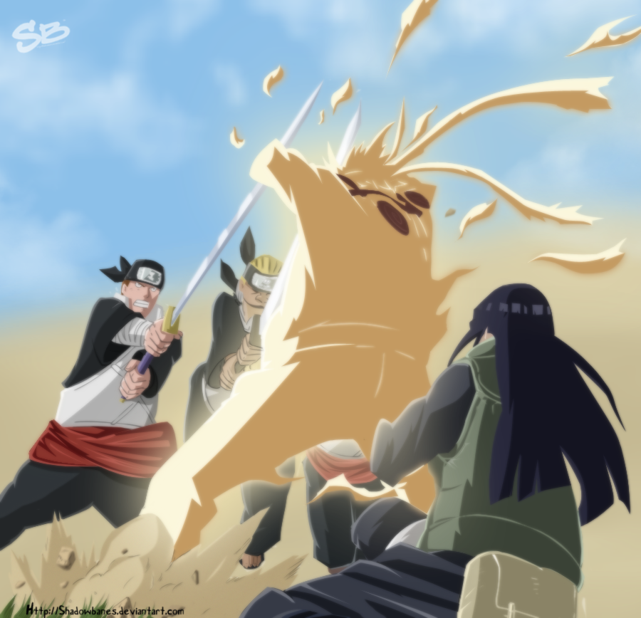 Latest Naruto Shippuden episode's Naruhina moment - Page 3 Sorry_for_running_late____by_shadowbanes-d4c4ojs