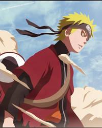 Naruto Sage Uzumaki by Ryuji-16