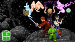 Homestuck Crew - Background by artemis251