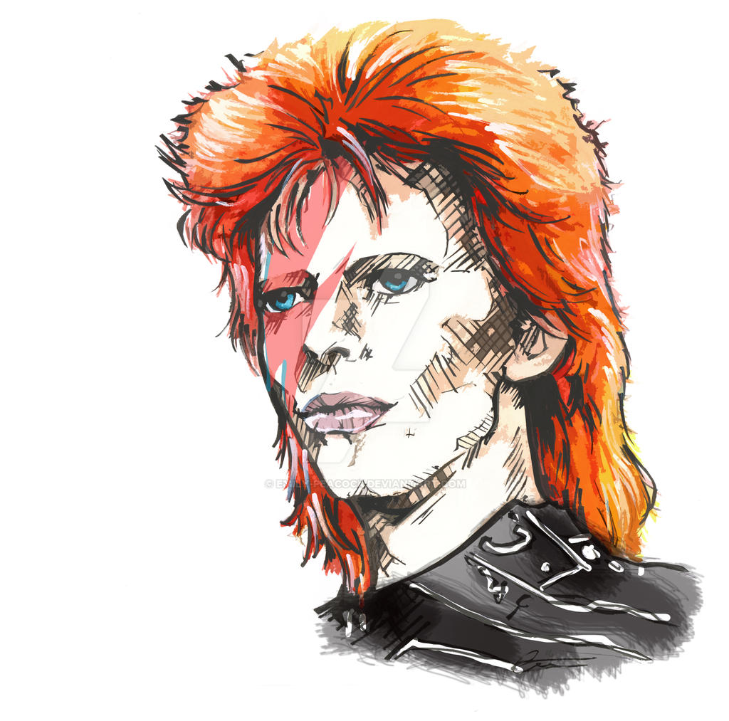 David Bowie RIP by Emily-Peacock