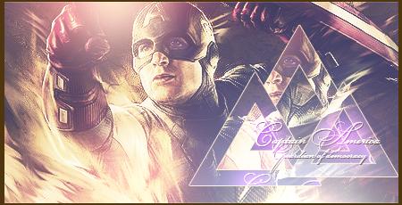Captain America by Oleg-DMW