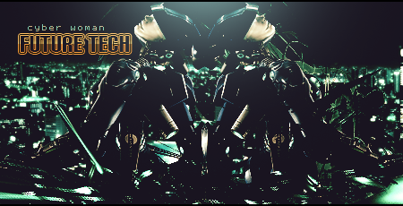 Tech-girl2 by Oleg-DMW