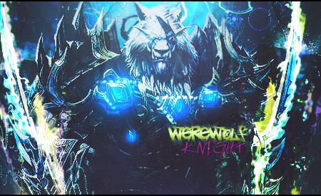 Werewolf-knight by Oleg-DMW