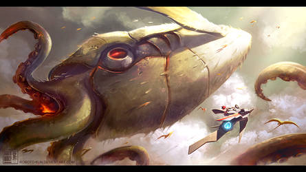 Monstrosity Hunter 02 by Roboto-kun
