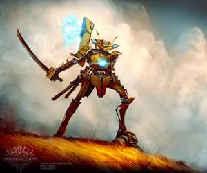 Mantis Samurai by Roboto-kun