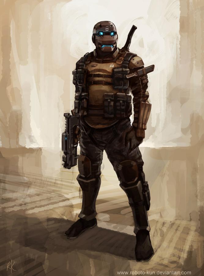 KABUKI trooper by Roboto-kun