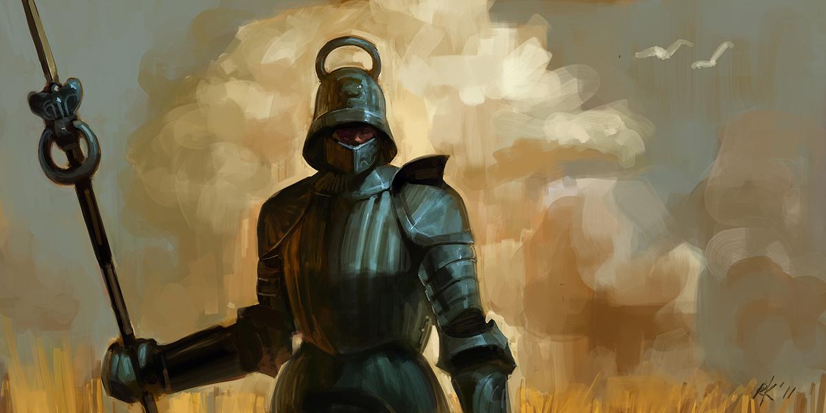 Lone Guard by Roboto-kun