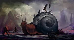 Monster Hunter Fire Snail