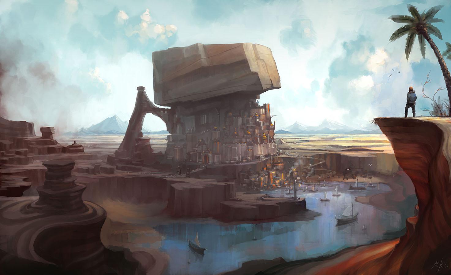 Oasis City Dark And Days By Roboto Kun On Deviantart