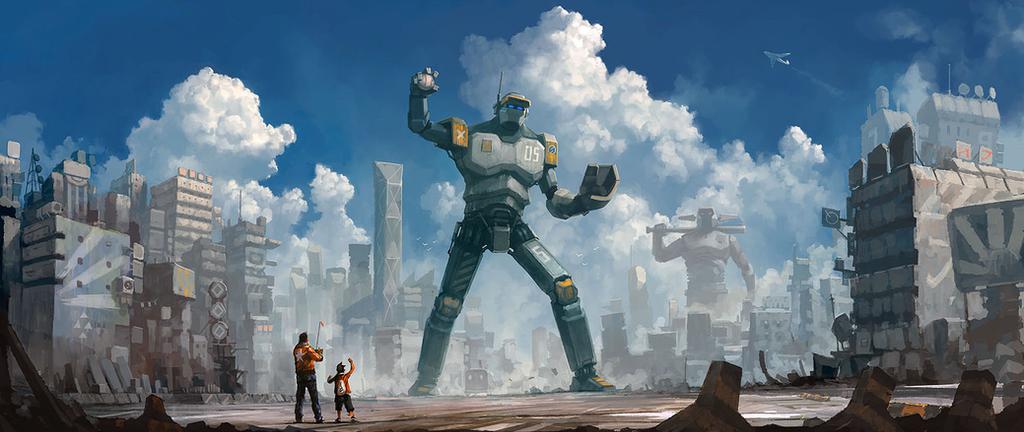 Father Son 1 by Roboto-kun