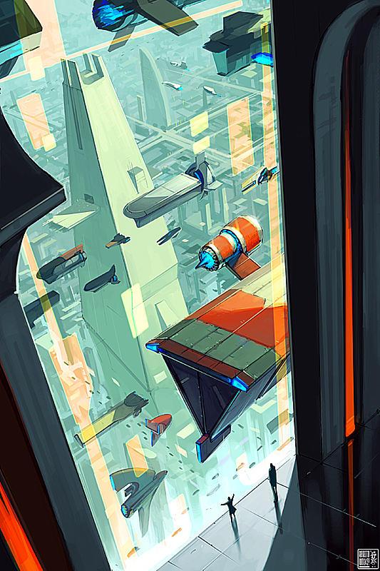Skyline by Roboto-kun