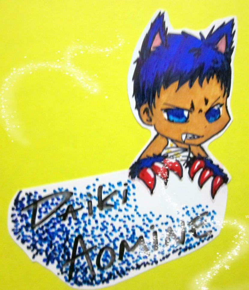 daiki aomine by goldendragonslayer on deviantart