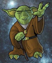 Yoda by geloso