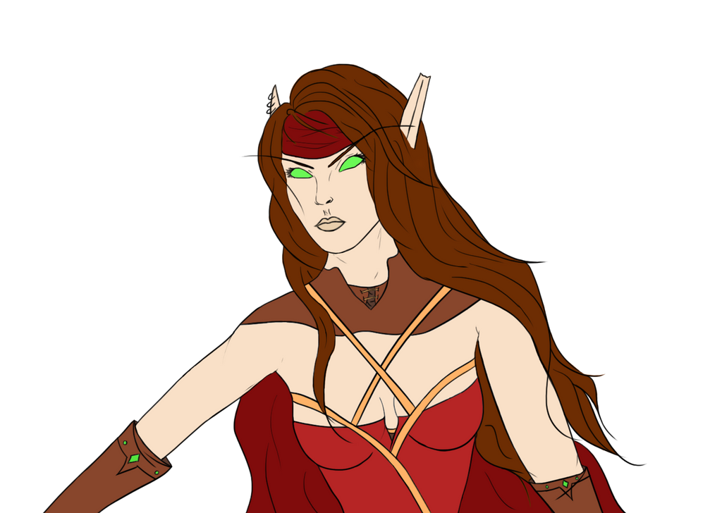 Verionda - Blood elf by ElenaForU