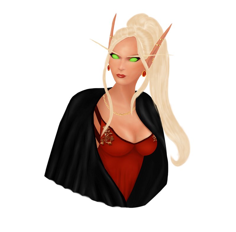 World of Warcraft bust edit by ElenaForU