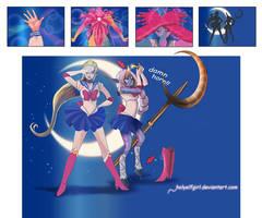 Sailor moon by HolyElfGirl