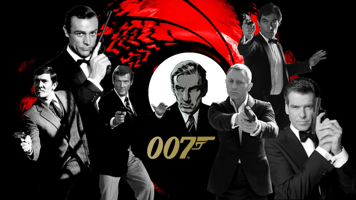 James Bond 007 Wallpaper (1600x900) by BradyMajor
