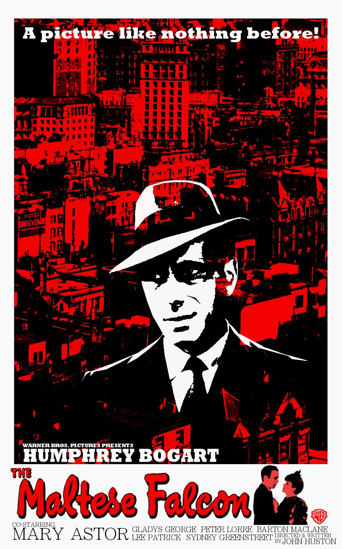 Maltese falcon movie poster