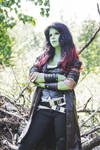 Guardians of the Galaxy - Gamora cosplay 21 by BunnyTheKid