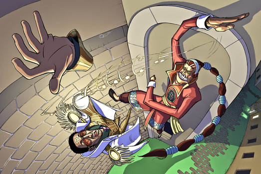 Apoo vs Kizaru - One Piece