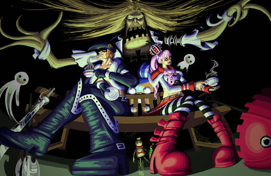 Drake 'n Perona - One Piece