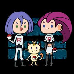 :: Team Rocket :: by otakufood-jaja