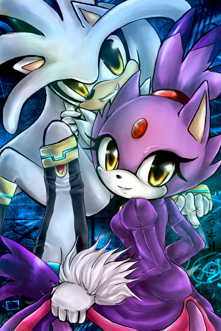 Blaze and silver ll by IndI-Art