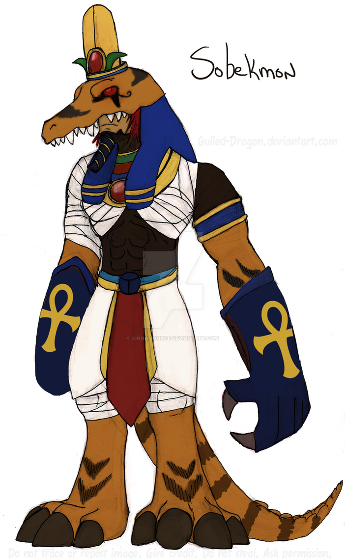 Digimon OC: Sobekmon by Guiled-Dragon