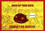 Reminder: Back Up Data! by CinnaMonroe