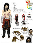 Chronicles of Phyx - Character Sheet: Vex by CinnaMonroe
