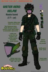 MHA: Water Hero - Kelpie