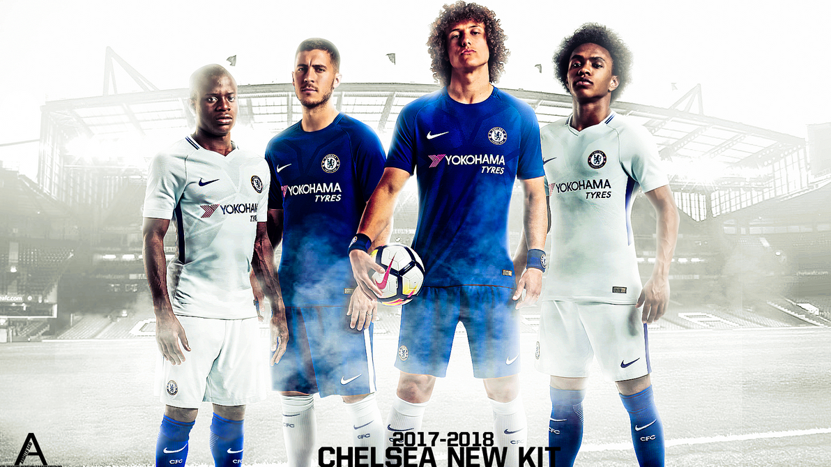 Chelsea 2017 2018 By Abdallhsaidking