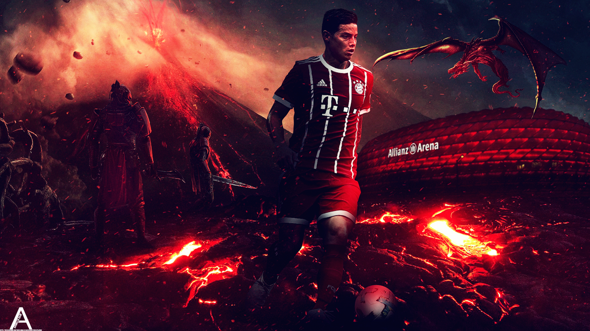 James rodriguez by abdallhsaidking on deviantart - James rodriguez wallpaper hd ...