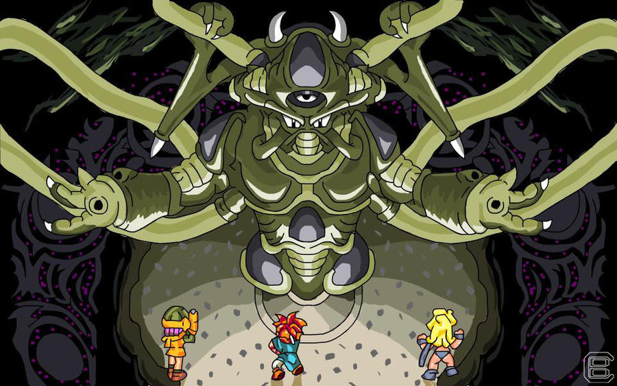 Chrono Trigger Lavos by Dragonfly929 on DeviantArt