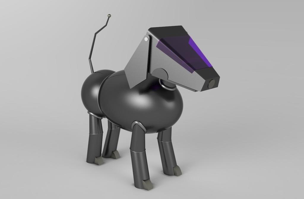 Perrobotillo (Robo-Puppy - Futurama) by Dragonfly929