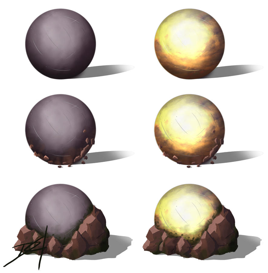 Sun Stone (Chrono trigger) by Dragonfly929