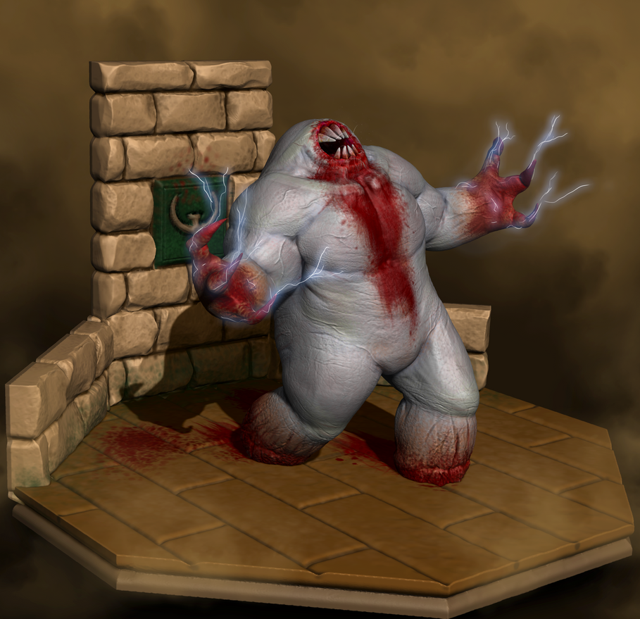 Shambler (Quake 1) by Dragonfly929