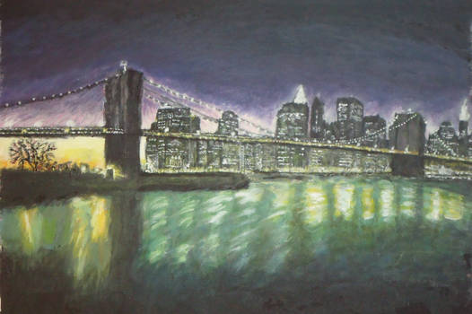 Brooklyn Bridge, NYC (naked)