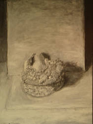 Study of a Basket of Fruit