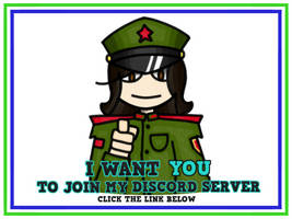 I want YOU to join my Discord server!