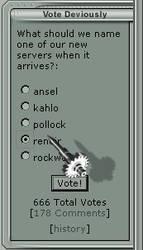 Vote Devilishly